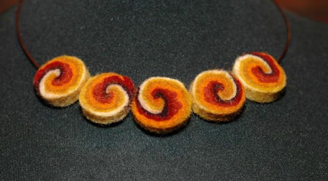 Filcowa biżuteria na DZIEŃ KOBIET (6 i 8.03)