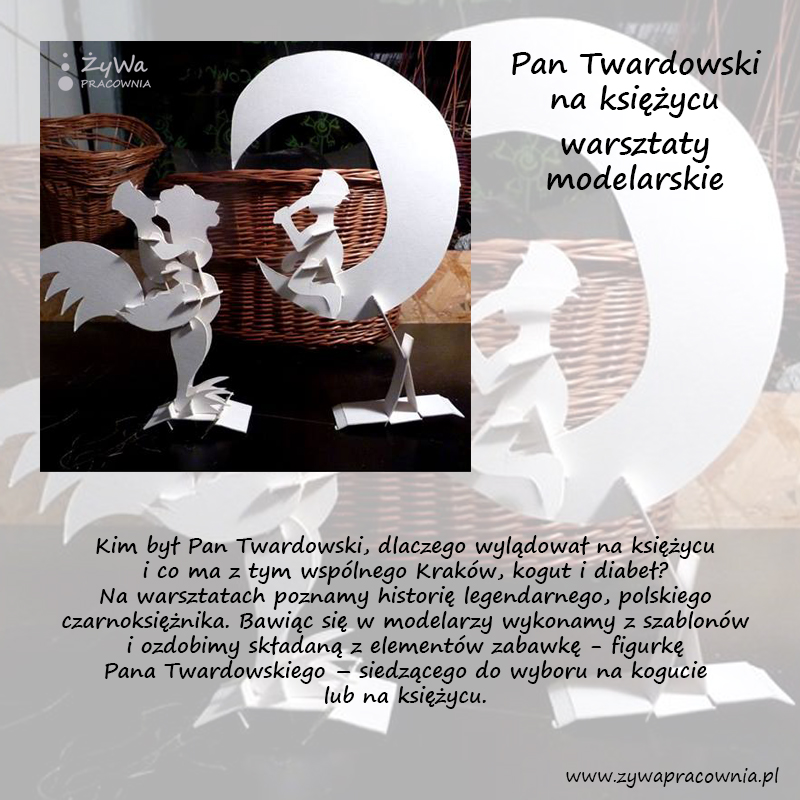 pan Twardowski - warsztaty modelarskie