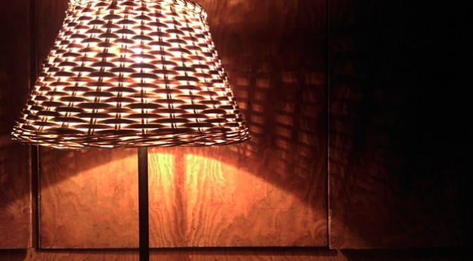 Wyplatane lampy