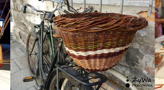 Bicykle, bakcyl i wiklina… czyli warsztaty wyplatania koszy rowerowych