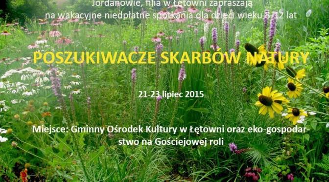 Warsztaty zielarskie w Łętowni