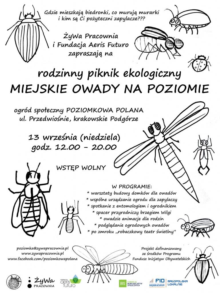 MIEJSKIE OWADY NA POZIOMIE_plakat_net
