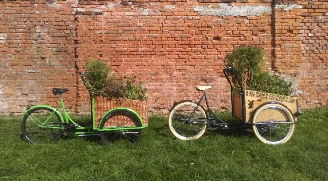 ETNOdesign – rowery cargo i kołyski z wikliny