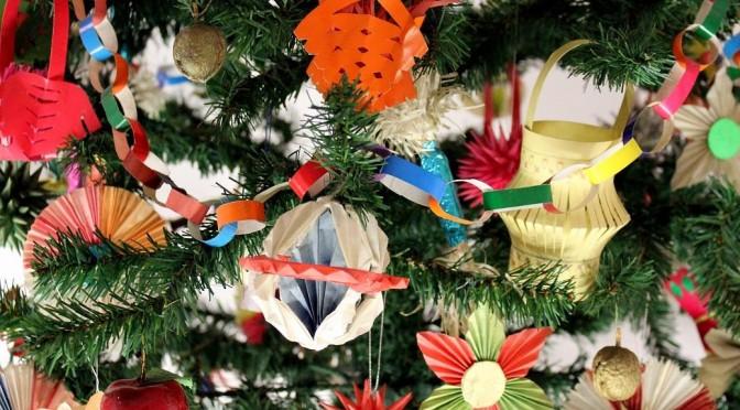 Świąteczna dekoratornia w MEK