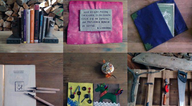 Książki górą! – październikowe warsztaty rękodzielnicze w ŻyWej