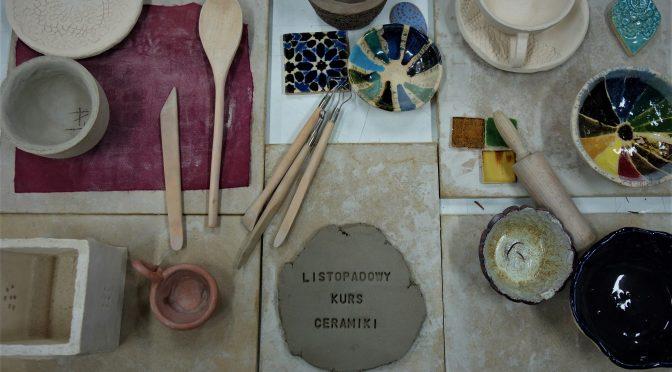 Listopadowy kurs ceramiki
